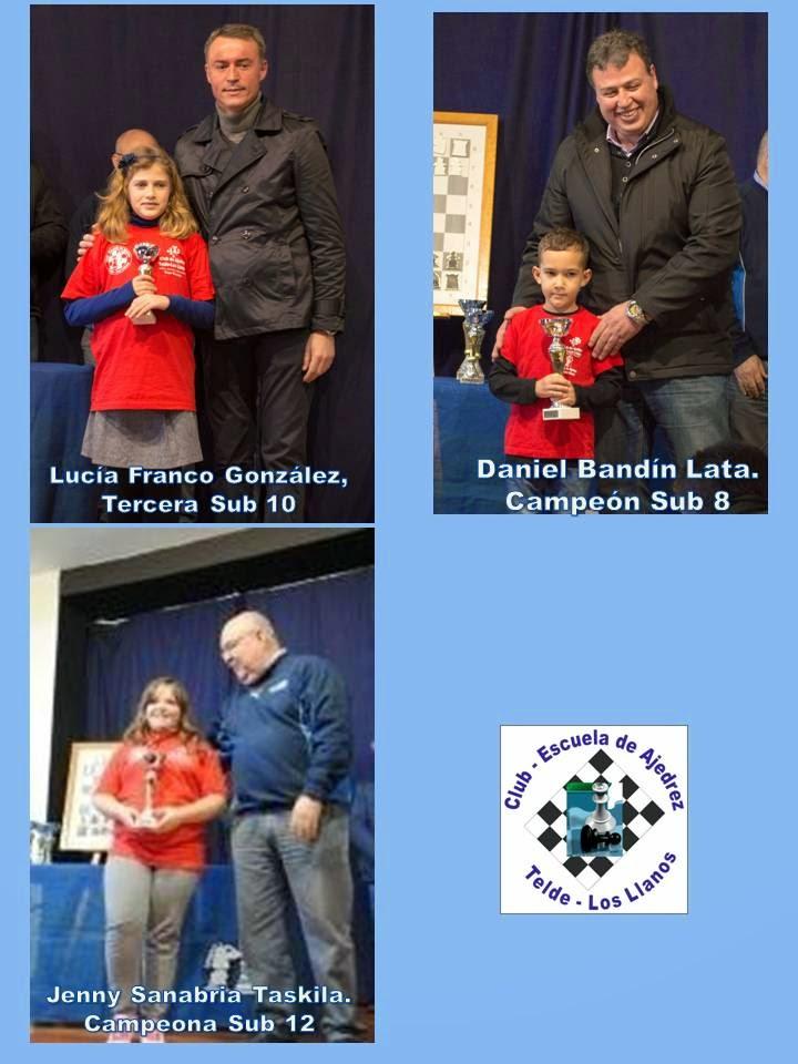 Premiados Final Edades Gran Canaria 2015