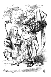 an analysis of the character of alice in the novel alice in wonderland by lewis carroll Characters from disney's 13th animated feature, alice in wonderland.
