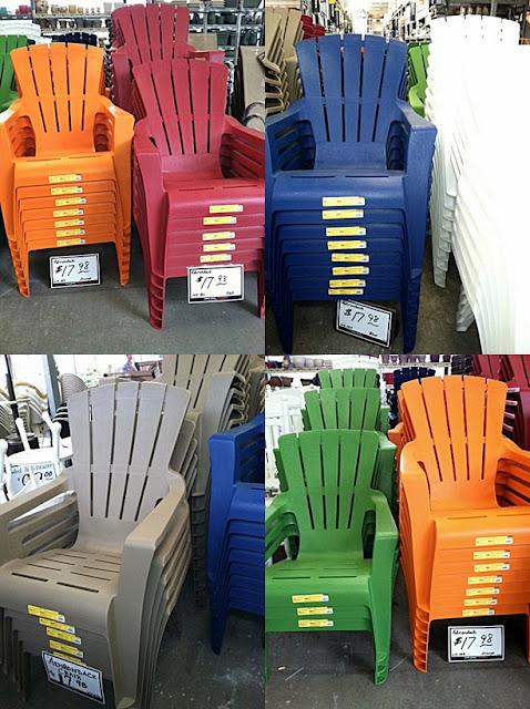 blue plastic adirondack chairs  1