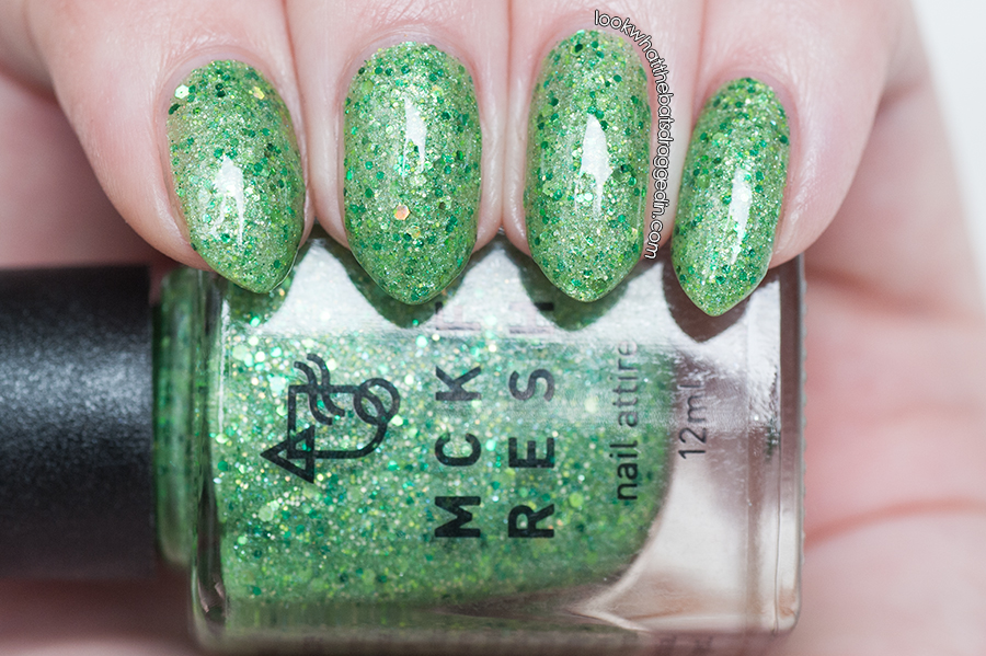 Mckfresh Nail Attire Planeteers polish collection Earth