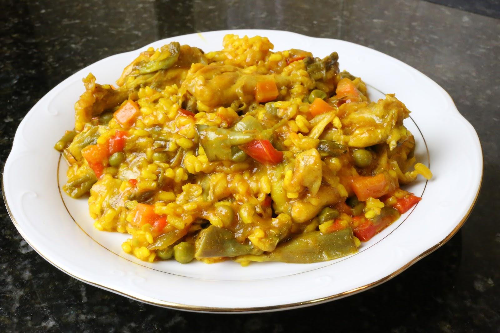 Cocina andaluza arroz con pollo y verduras for Que cocinar con pollo