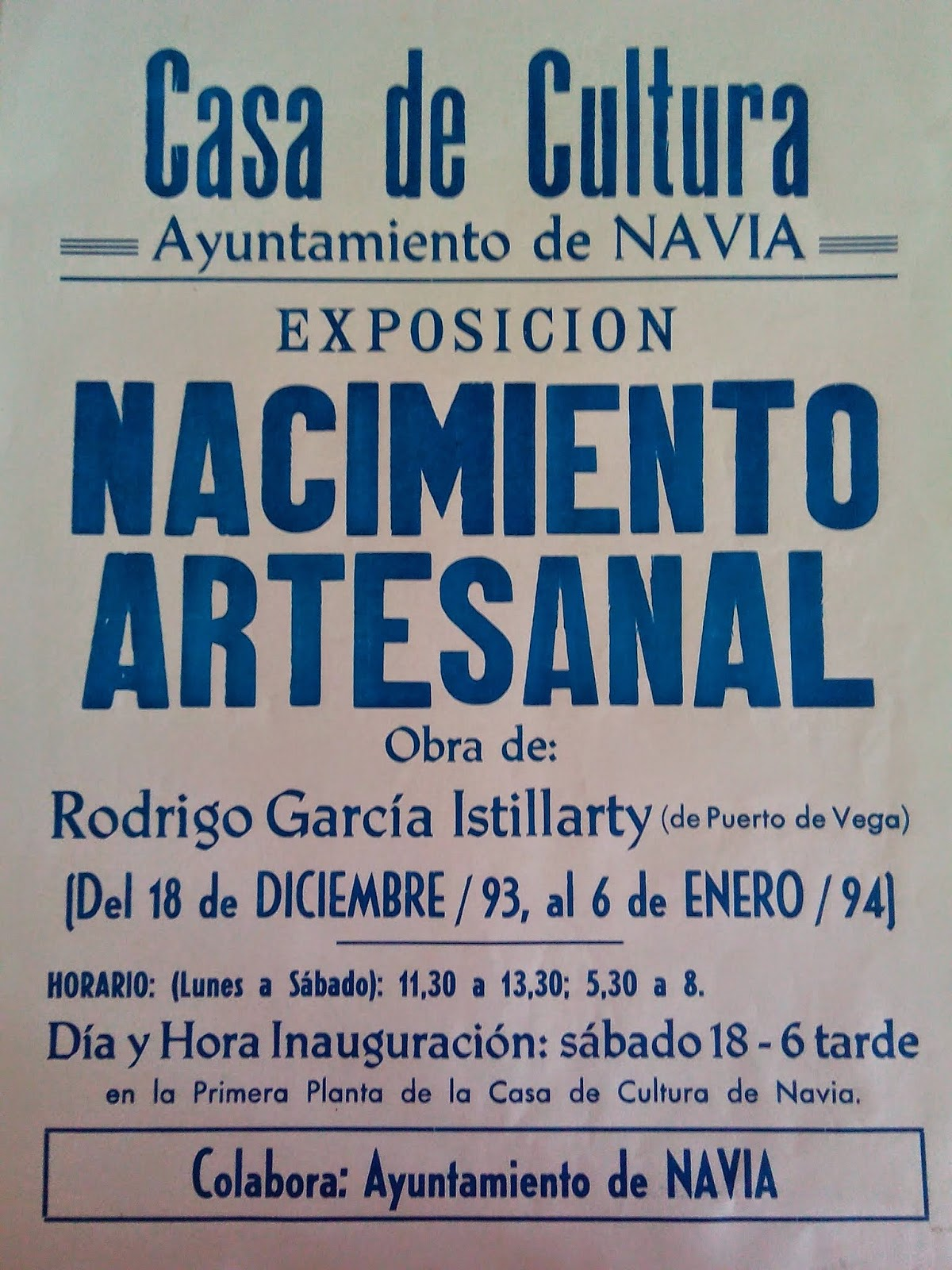 exposicion belen artesanal rodrigo garcia istillarty