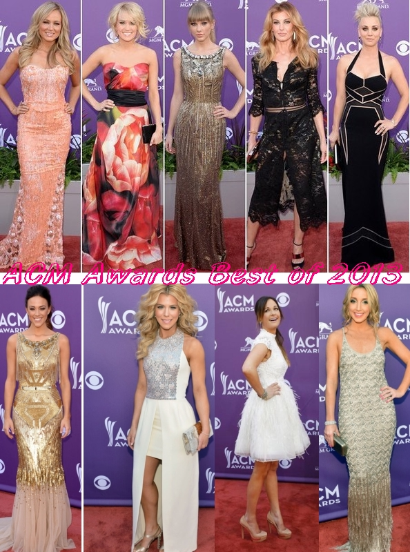 Country routes news: 48th ACM Awards 2013: Fashion