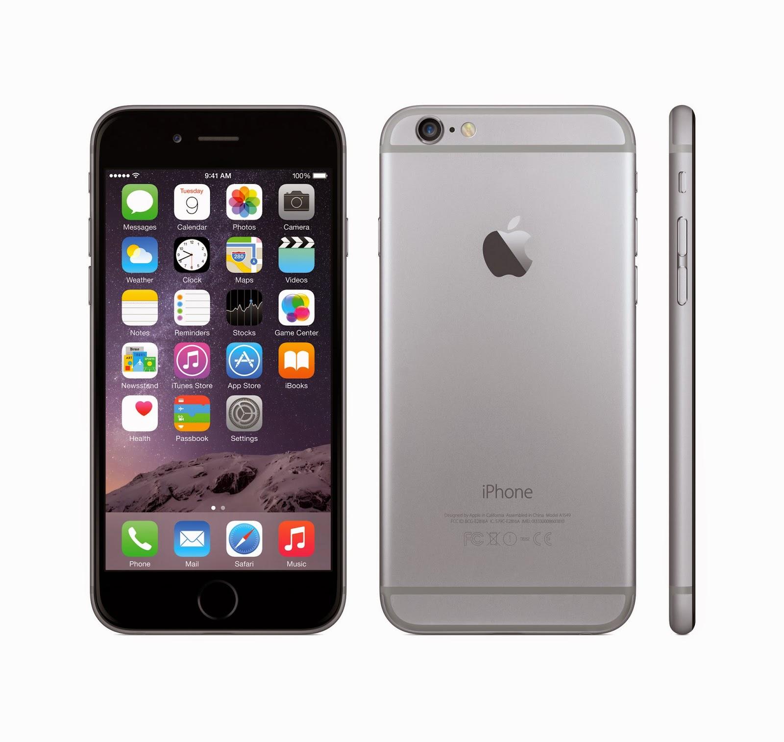 Spesifikasi dan Harga Resmi iPhone 6 di Indonesia