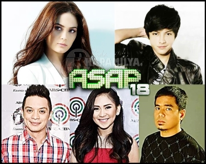 Kristine Hermosa Comeback and Mother's Day Treat with Sarah, Daniel and Bamboo on ASAP 18 (May 12)