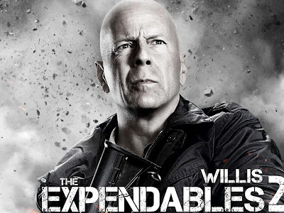 The Expendables 2 powerpoint background 11