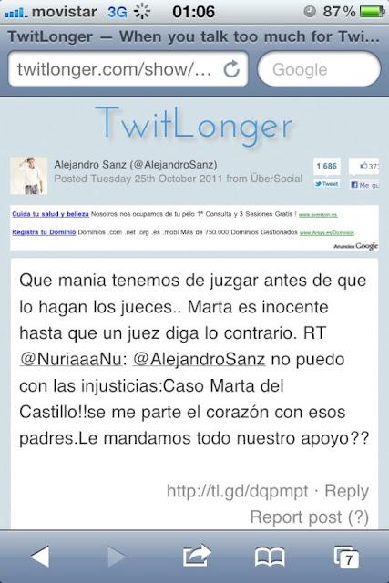 Alejandro Sanz trending topic twitter