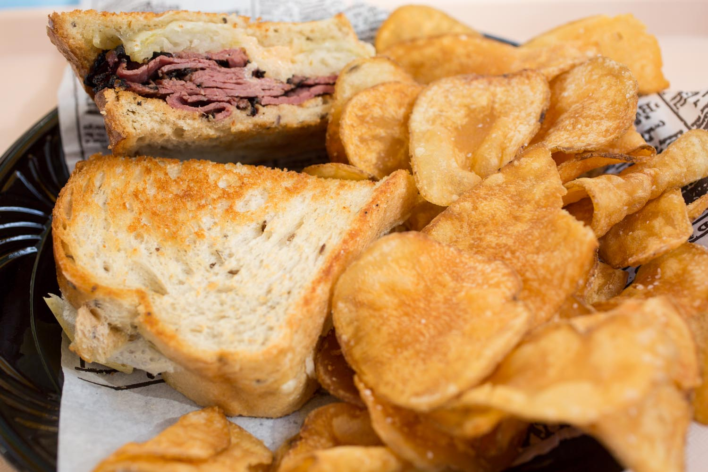 Disneyland Food Guide: Ruben Sandwich