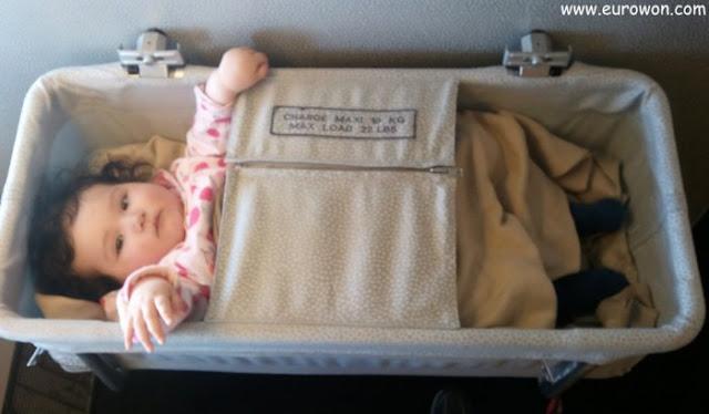 Sonia en la cuna del vuelo de Air France