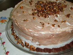Torta Crocante de Nozes