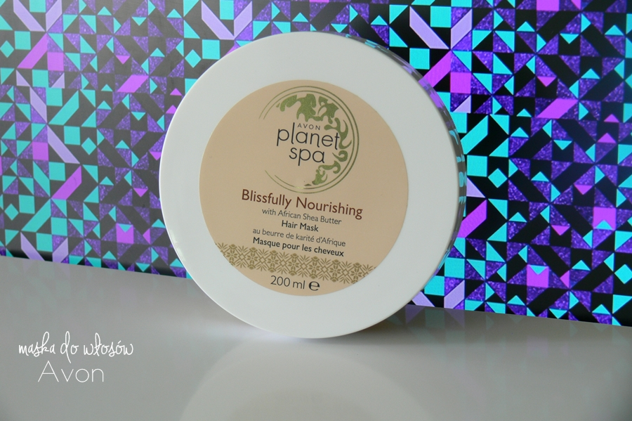 Avon, Planet Spa Blissfully Nourishing Hair Mask Odżywcza maska do włosów