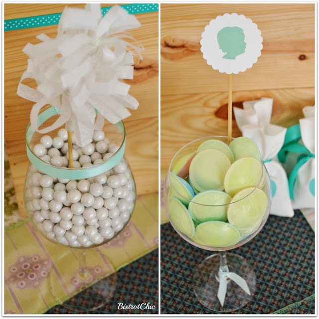 Green Rustic Christening by Bistrotchic