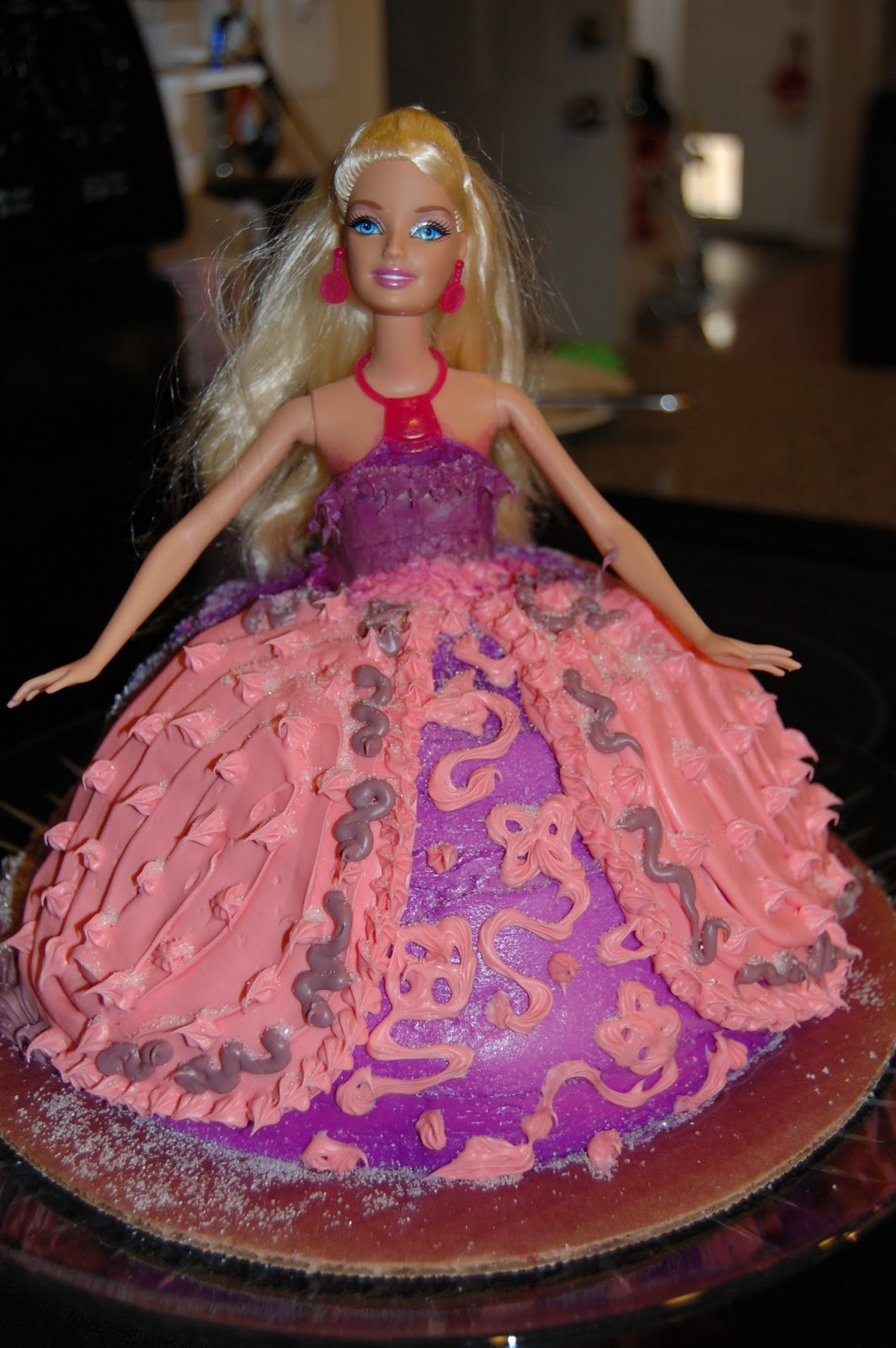 Cake Decorating Ideas Barbie : Barbie Cake Decorations
