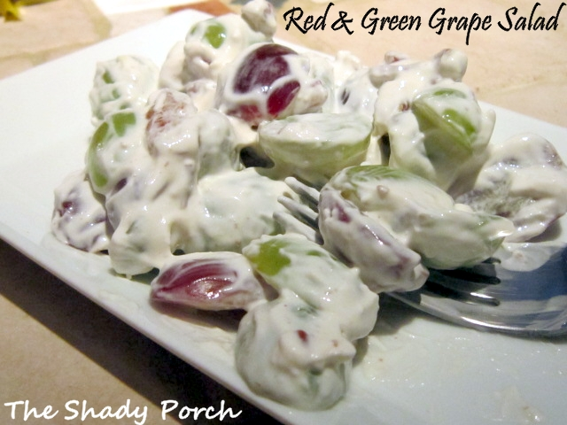 Red & Green Grape Salad