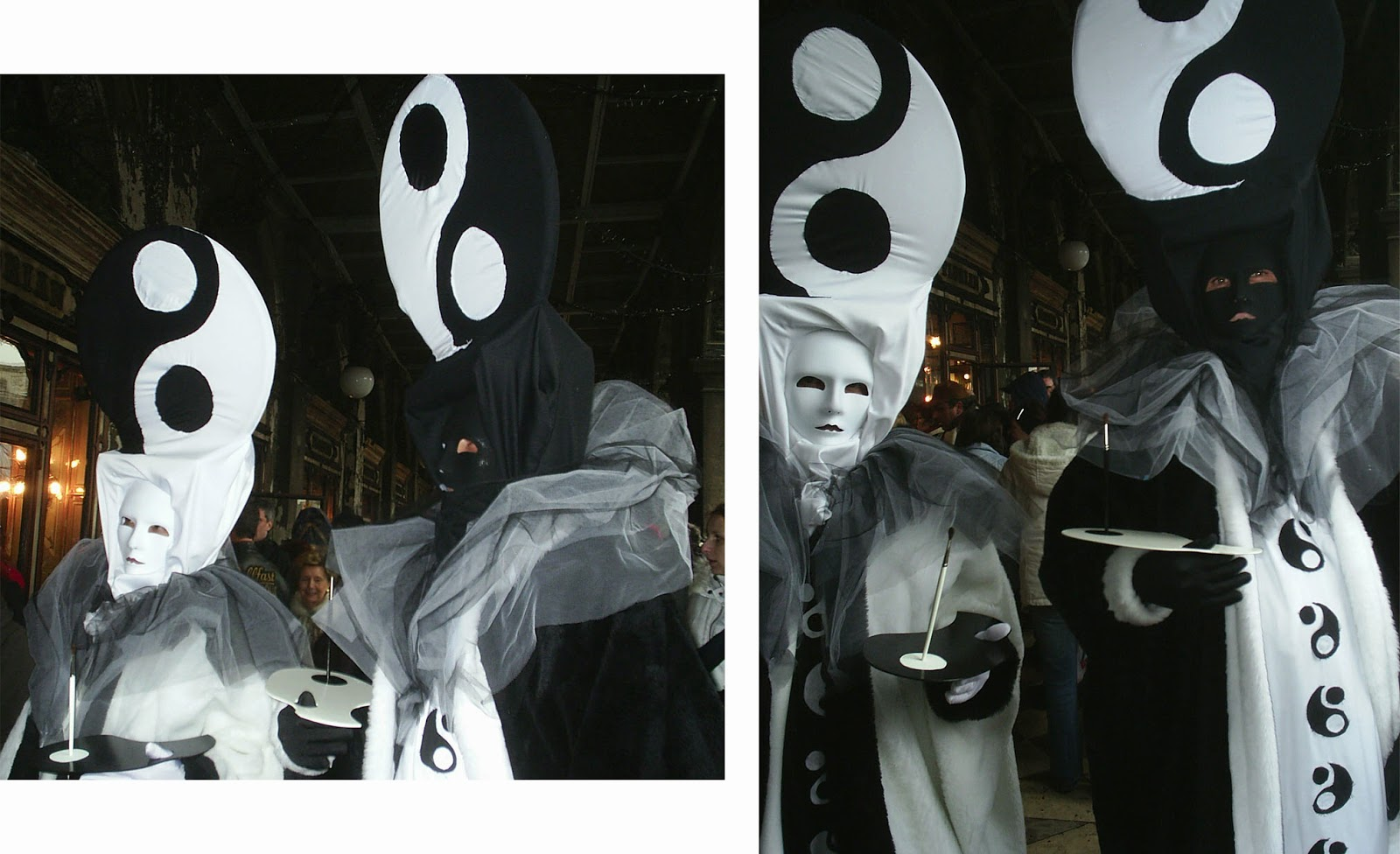 Yin Yang, Carnaval, Venecia, Italia
