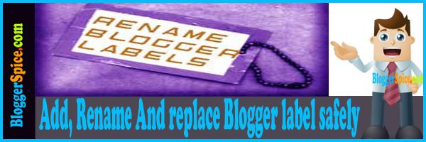 Blog label