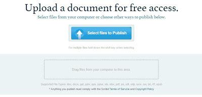 trik downlad dokumen scribd - upload dokumen