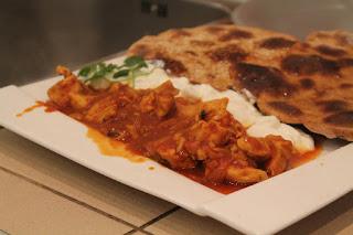 Indyjskie danie - kurczak Vindaloo