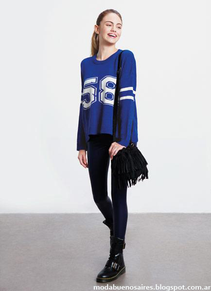 Como quieres que te quiera otoño invierno 2014. Moda juvenil invierno 2014 sweaters.