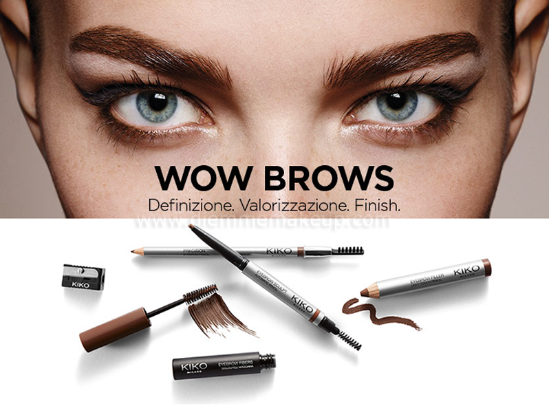 Diemmemakeup: KIKO MILANO - WOW BROWS