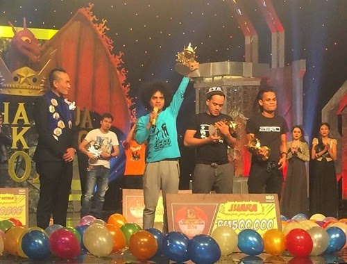 Zero juara Maharaja Lawak Mega MLM2014, pemenang MLM2014, hadiah pemenang dan juara MLM2014, gambar juara Maharaja Lawak Mega 2014, senarai pemenang MLM2014, keputusan penuh, keputusan rasmi Gelanggang Akhir Maharaja Lawak Mega 2014