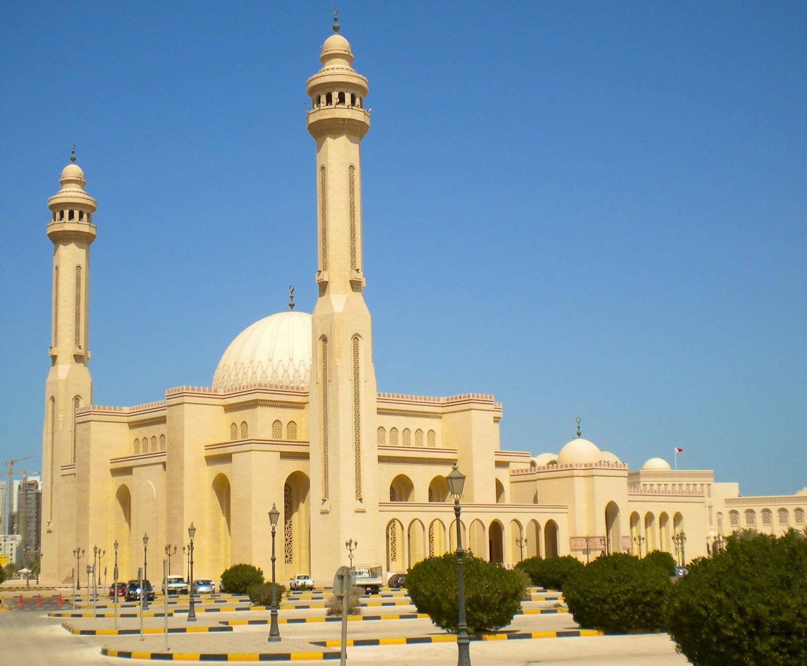Travel Trip Journey Al Fateh Grand Mosque Bahrain