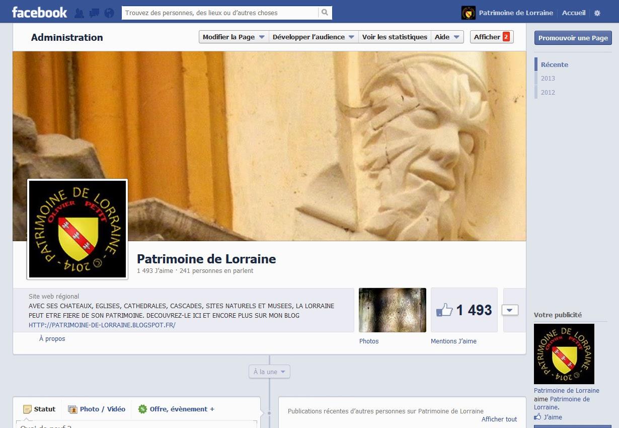 https://www.facebook.com/PatrimoineDeLorraine
