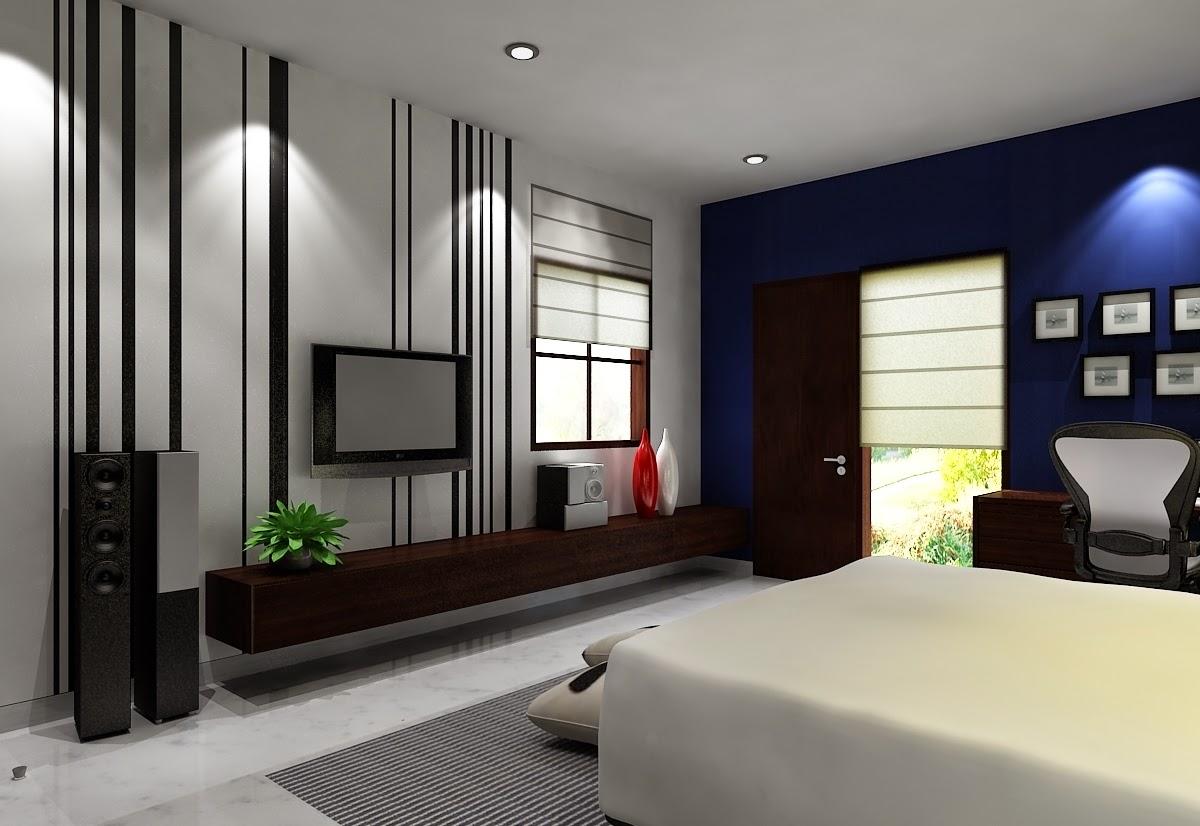 koleksi desain warna cat kamar tidur rumah minimalis