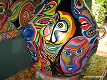 MAYA CUBISM-- ¨Convite¨ (costumed street dance)