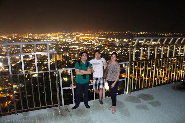 Emilfredo Ong, Renz Cheng and Elaine Franco in Cebu