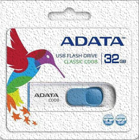 ADATA C008 USB 2.0 stick format utility