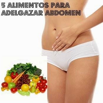 alimentos adelgazar abdomen