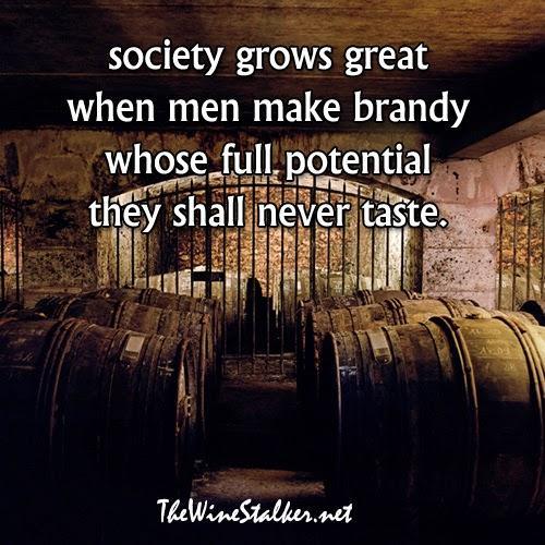 Aging Cognac