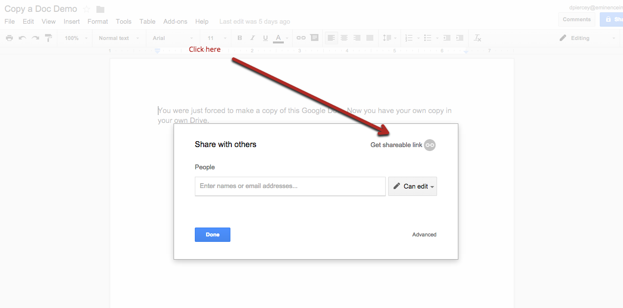 Eminence edtech force copy a google drive template next put this new link with copy onto your haiku page class website etc when clicked this new window comes up ccuart Images