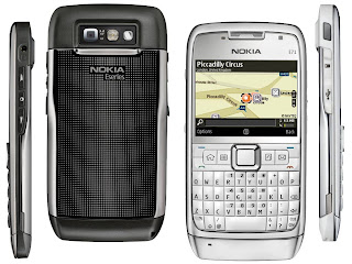 Nokia E71 built-in GPS