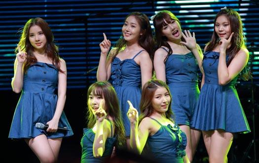 13 Girl Band Korea K-Pop Tercantik Terpopuler 2015