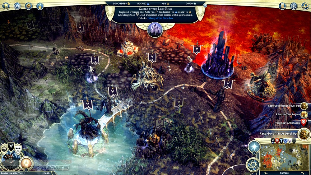 Age of Wonders III Eternal Lords juego completo age of empires