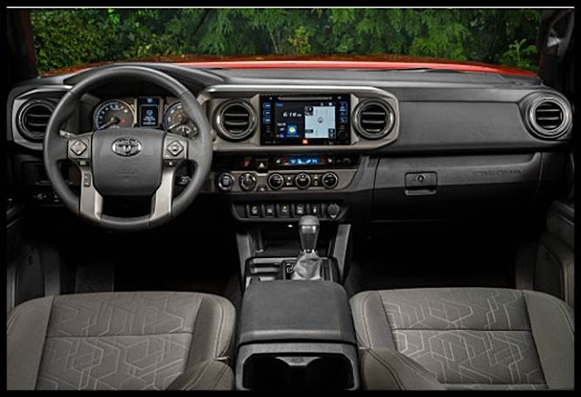 2016 Toyota Tacoma Double Cab Short Bed Length