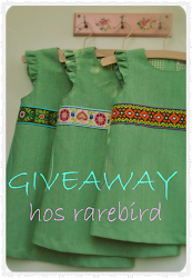 give away hos Rarebird