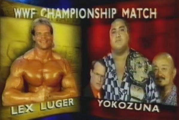 WWF / WWE SUMMERSLAM 1993: WWF Title Match - Lex Luger vs. WWF Champion Yokozuna