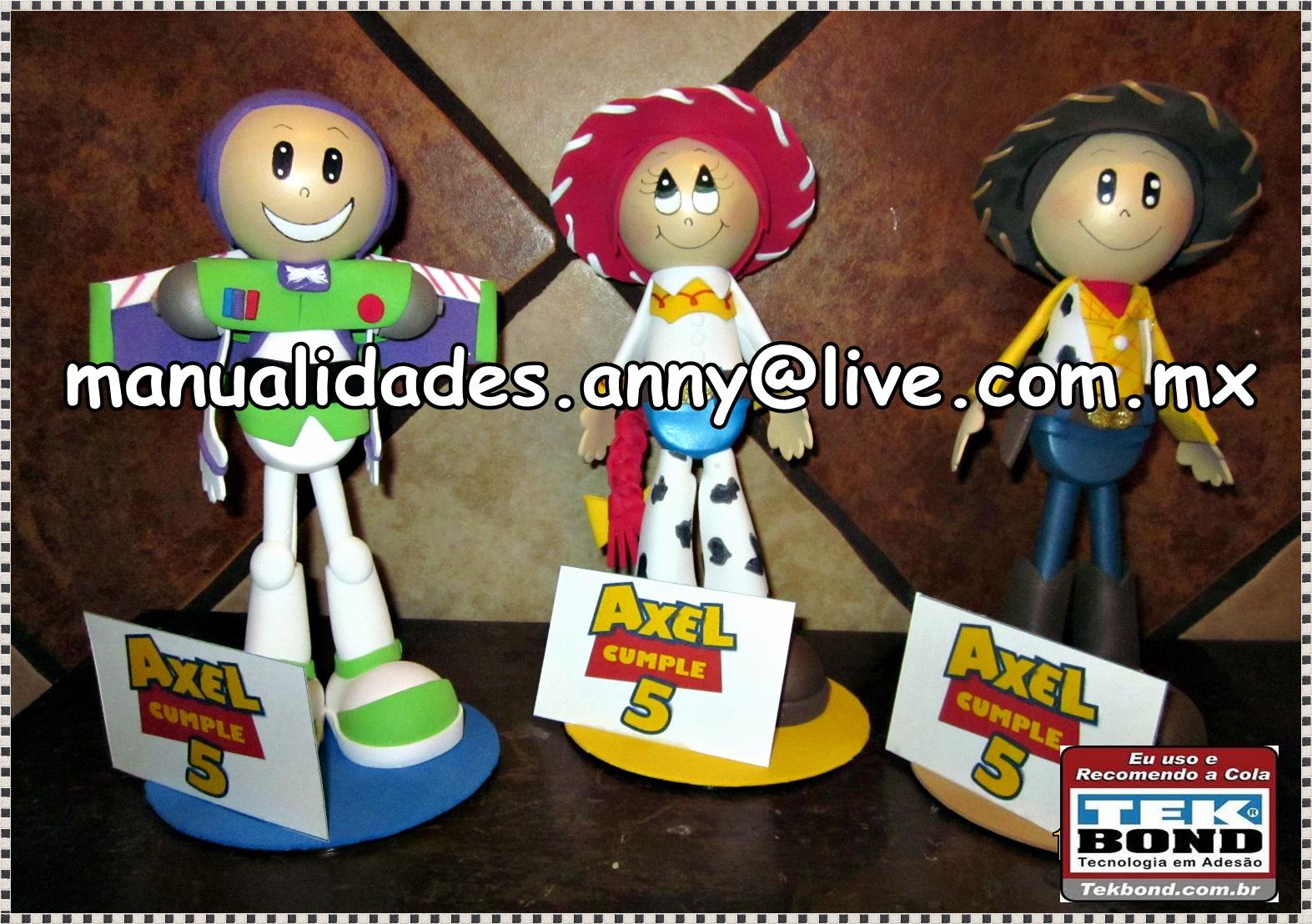 Buzz, Jessy y Woody