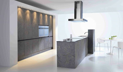 diseño cocina gris