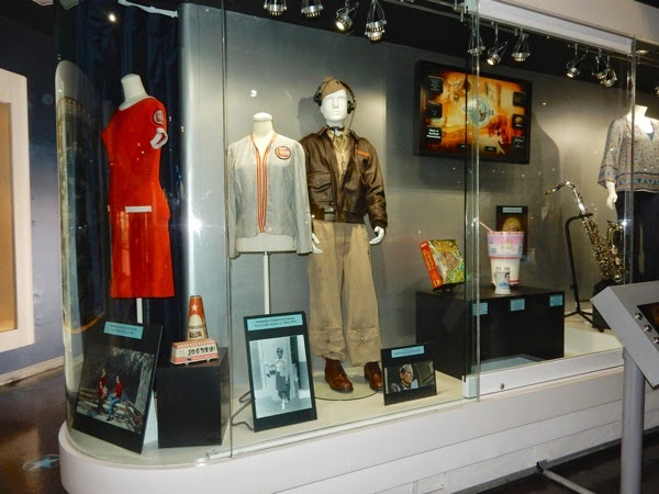 Universal Studios Hollywood archive exhibit