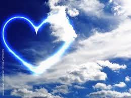 Gambar Cinta Awan Romantis I Love U