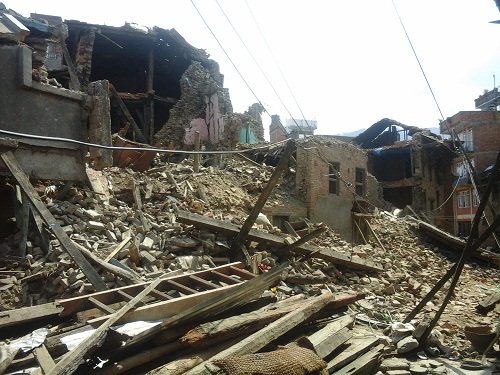 nepal earthquake 2015 image