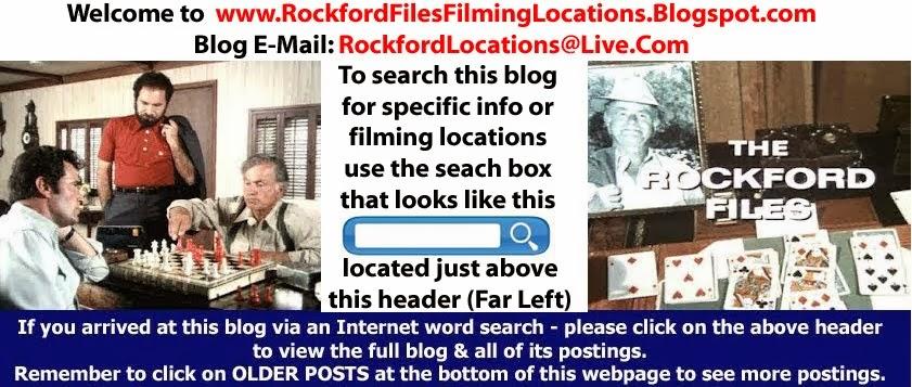 Rockford Files Filming Locations
