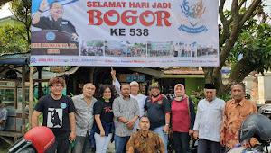 Peringati HJB 538, KKW Kota Bogor Pasang Baliho Ucapan Depan Kejati Kota Bogor