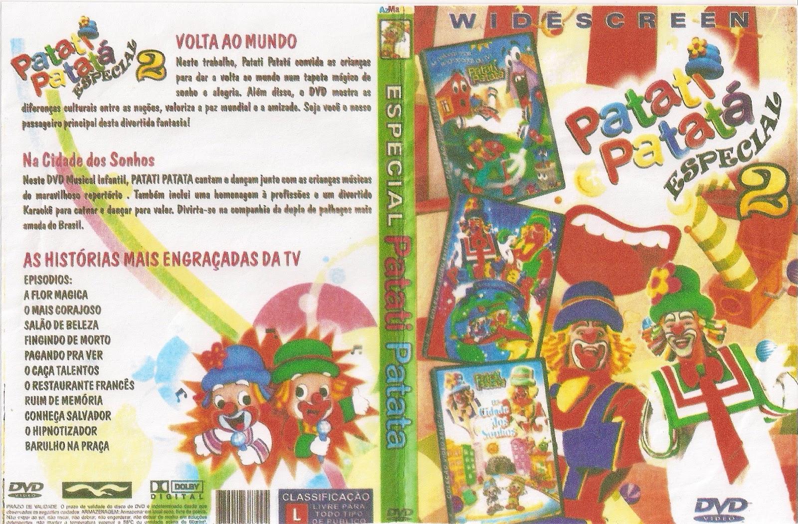 PATATI PATATA   3 EM 1 VOLUME 2