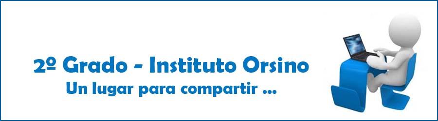 Instituto Orsino - 2º Grado