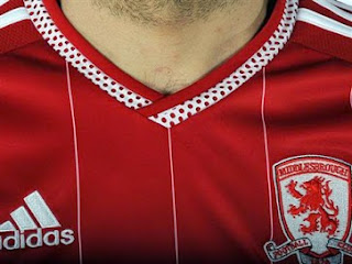 Jersey Middlebrough home terbaru musim 2015/2016